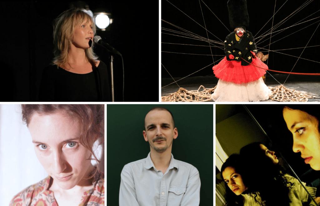 Soirée poétique en chair et en os avec Barbara Gay, Annabelle Verhaeghe et Benoît Toqué